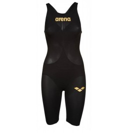 Arena Carbon Air 2 Open Back Kneeskin - Black Gold