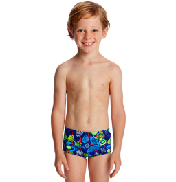 Funky Trunks Toddler Boys Catch Of The Day Printed Trunks