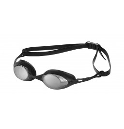 Arena Racing Cobra Mirror Goggle - Smoke/Silver/Black