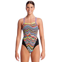 Funkita Womens Dripping Single Strap One Piece