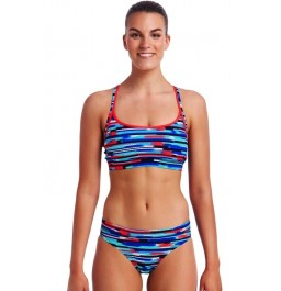 Funkita Womens Meshed Up Ladies Sports two piece