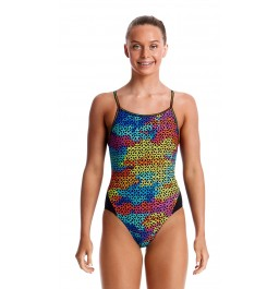 Funkita Girls Celtic Pride Diamond Back One Piece
