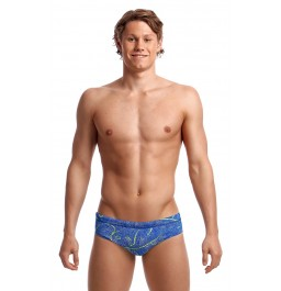 Funky Trunks Mens Classic Briefs Sea Salt