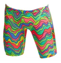 Funky Trunks Boys Body Contour Training Jammers