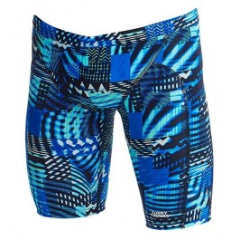Funky Trunks Boys Electric Nights Training Jammers