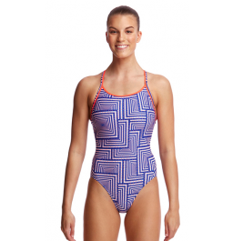 Funkita Womens I Said Swim Diamond Back One Piece