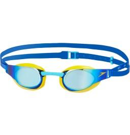 Speedo Elite Goggle Mirror Junior Yellow/Blue