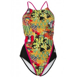 MP Michael Phelps Women's Jongo One Piece Swimsuit Openback