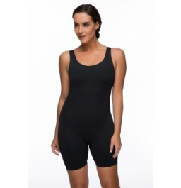 Maru Solid Aquarius Legged Suit - Black