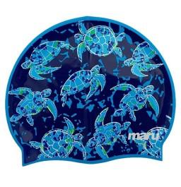 Maru Silicone Swim Hat - Turtle Print