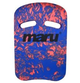 Maru Swirl Kickboard - Blue/Red