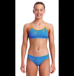 Funkita Girls Ocean Swim Racerback Two Piece