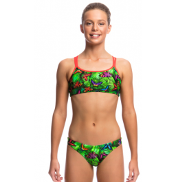 Funkita Girls Pretty Fly Criss Cross Two Piece