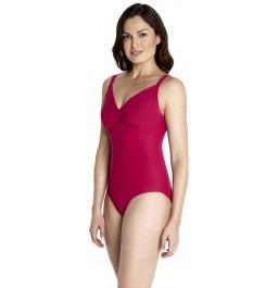 Speedo Sculpture Watergem Swimsuit - Red