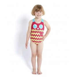 Speedo Tropic Patvhworld Essential Applique Red/Blue