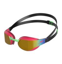 Speedo Fastskin Elite Mirror junior goggles Red/Gold