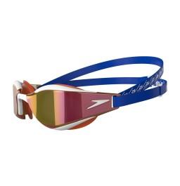 Speedo Fastskin Hyper Elite Mirror Goggles - Blue/Gold