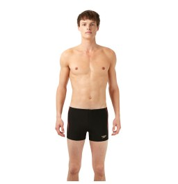 Speedo Men's Placement  Aquashort  Black/Grey