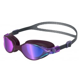 Speedo Virtue Mirror Goggles Grey/Purple