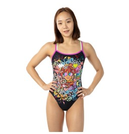 Speedo Women's Hippy Chick Dreams Placement Double Crossback
