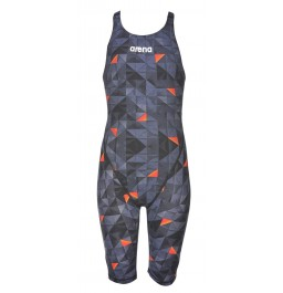Arena Girls Powerskin ST 2.0 Limited Edition Kneesuit - Black/Orange