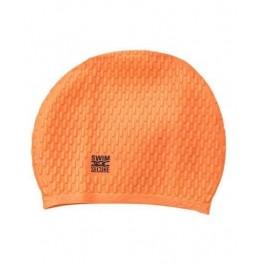 Swim Secure Bubble Hat - Orange