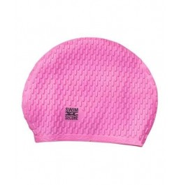 Swim Secure Bubble Cap Hat - Pink