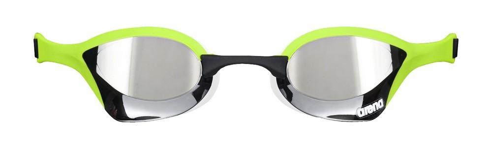 Arena Cobra Ultra Mirror Racing Goggles - Silver   Green 4e9a471771