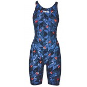 Arena Girls Powerskin ST 2.0 Limited Edition Kneesuit - Turquoise/Orange