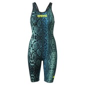 Arena Carbon Air² Limited Edition Blue Python Open Back Kneeskin