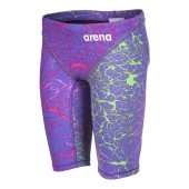 Arena Boys Powerskin ST 2.0 Limited Edition Jammer - Storm Pink & Green