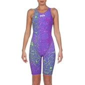 Arena Womens Powerskin ST 2.0 Limited Edition Kneesuit - Storm Pink & Green