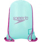 Speedo Mesh Equipment Bag - Green/Purple
