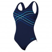 Zoggs Altona Taped Scoopback Swimsuit