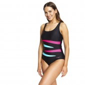 Zoggs Hybrid Tropics Adjustable Scoopback Swimsuit