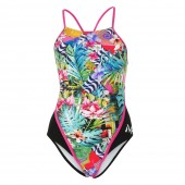 MP Michael Phelps Women's Flores One Piece Swimsuit Racerback