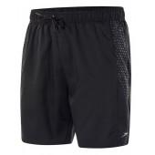 "Speedo Sport Printed 16"" Swimsuit - Black"