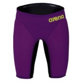 Arena Carbon Air Jammers - Plum/Yellow