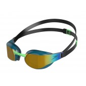 Speedo Fastskin Elite Mirror Goggle Green/Gold