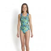 Speedo-Junior Swimsuits-Lavagem Placement Digital Splashback-Black