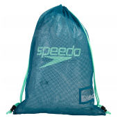Speedo Mesh Equipment Bag - Blue/Green