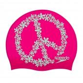 Speedo Slogan Print Cap - Pink/Green