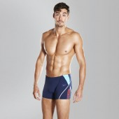 Speedo Boom Splice Jammer Men Navy Lime Swim Shorts