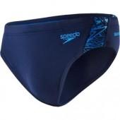 Speedo Boom Splice 7cm Brief - Navy/Blue