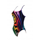 Zoggs Neon Zee Starback Swimsuit