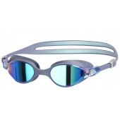 Speedo V-Class Virtue Mirror Goggle - Grey/Blue