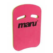 Maru Two Grip Fitness Kickboard Pink/Lime