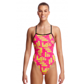 Funkita Womens Bar Bar Tie Me Tight One Piece