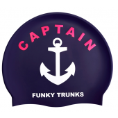 Funky Trunks Captain Funky Silicone Swim Cap