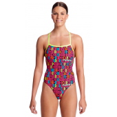 Funkita Womens Code Breaker Strapped In One Piece